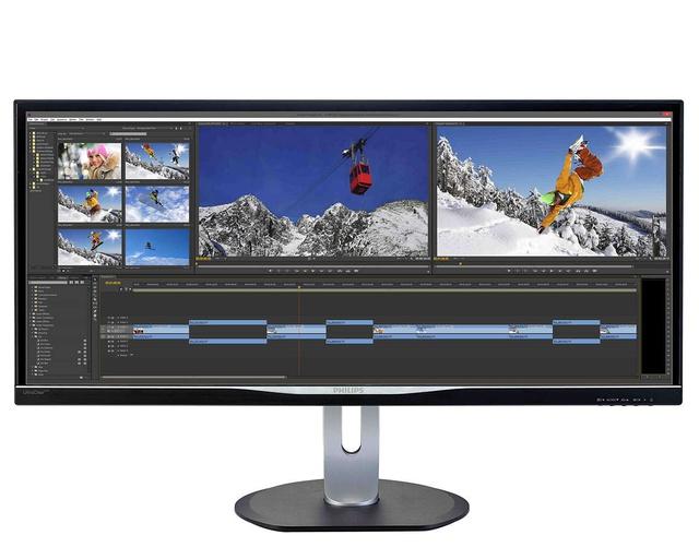 Wygląd monitor Philips BDM3470UP