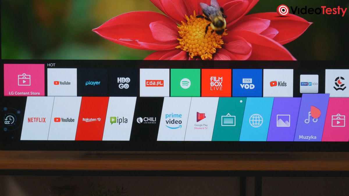 LG OLED55E9PLA platforma smart tv
