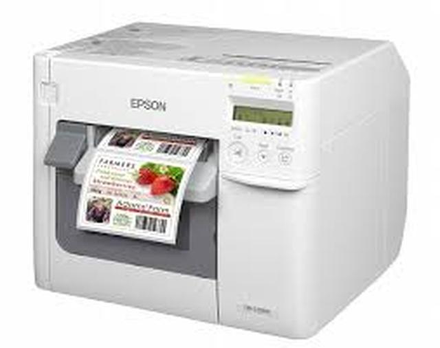 Epson TM-C3500 - etykiety na najwyższym poziomie