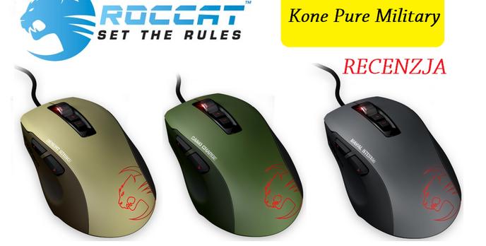 Roccat Kone Pure Military - najlepszy sprzęt dla wirtualnego wojaka?