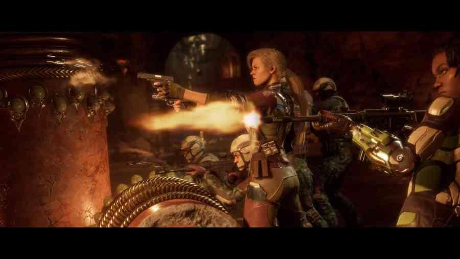 Mortal Kombat 11 - Trochę strzelania przed biciem się