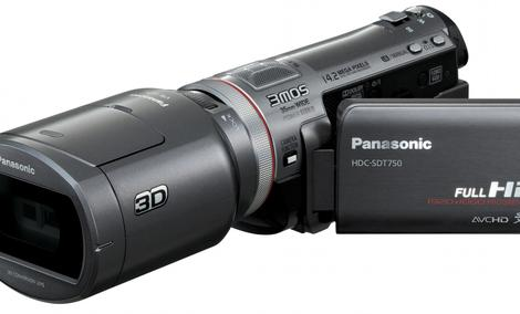 Panasonic HDC-SDT750 - kamera HD 3D