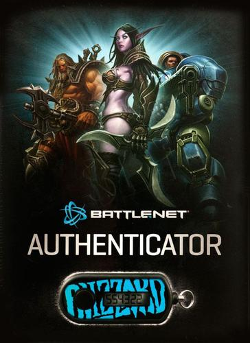 Battle.net Authenticator - token Diablo, World of Warcraft, Starcraft