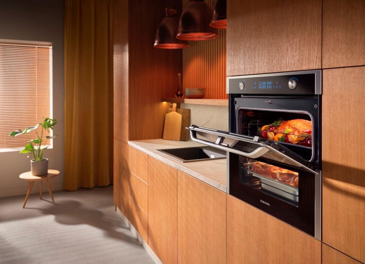 Samsung Dual Cook Flex w kuchni