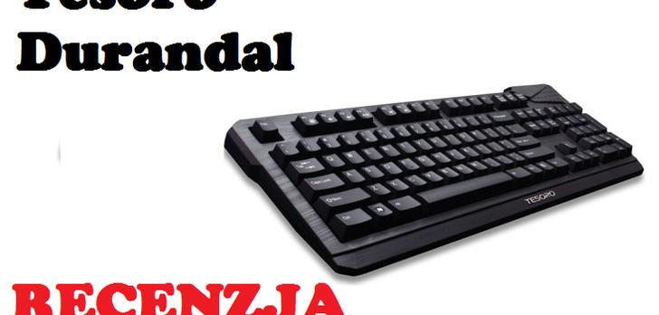 Tesoro Durandal - podstawowa klawiatura mechaniczna