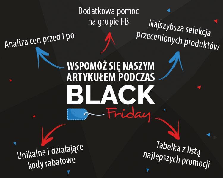 Infografika o korzyściach artykułu o Black Friday 2018