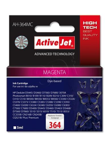 ActiveJet AH-364MC tusz magenta do drukarki HP (zamiennik HP 364 CB319EE) Premium