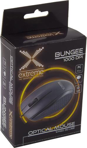 ESPERANZA MYSZ PRZEWODOWA XM110K BUNGEE USB BLACK 1000DPI