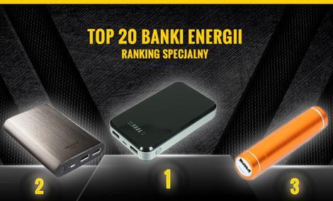 TOP 20 Banków Energii - Zobacz Najpopularniejsze Power Banki!
