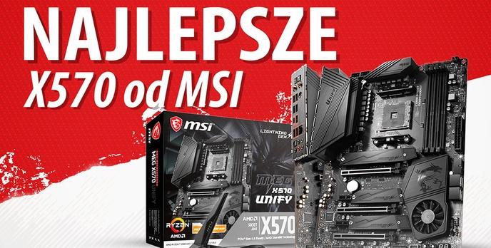 Test MSI MEG X570 Unify - 3900X i 54 stopnie na sekcji