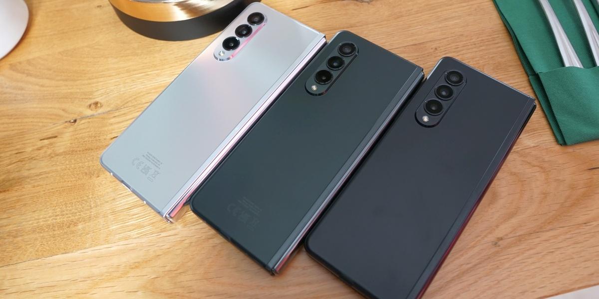 Samsung Galaxy Z Fold 3 pojawi się w trzech kolorac