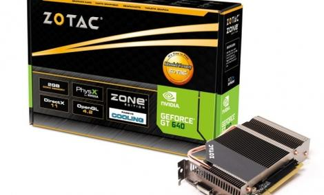 Zotac GT 640  ZONE Edition [UNBOXING]