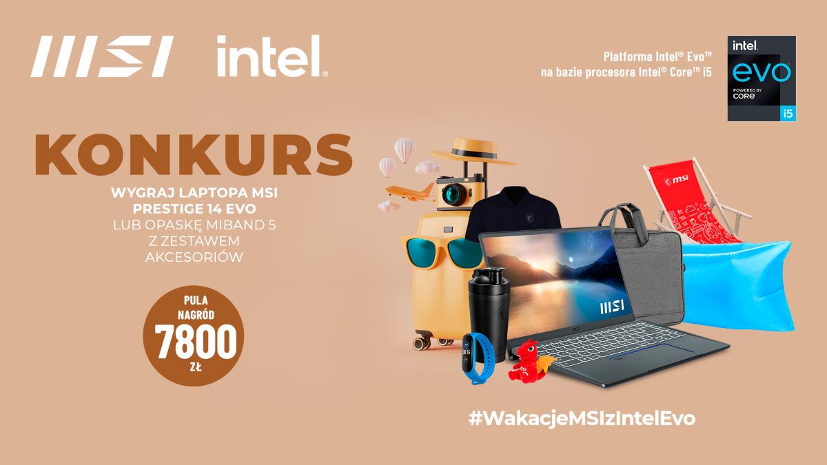 MSI konkurs we współpracy z Intelem