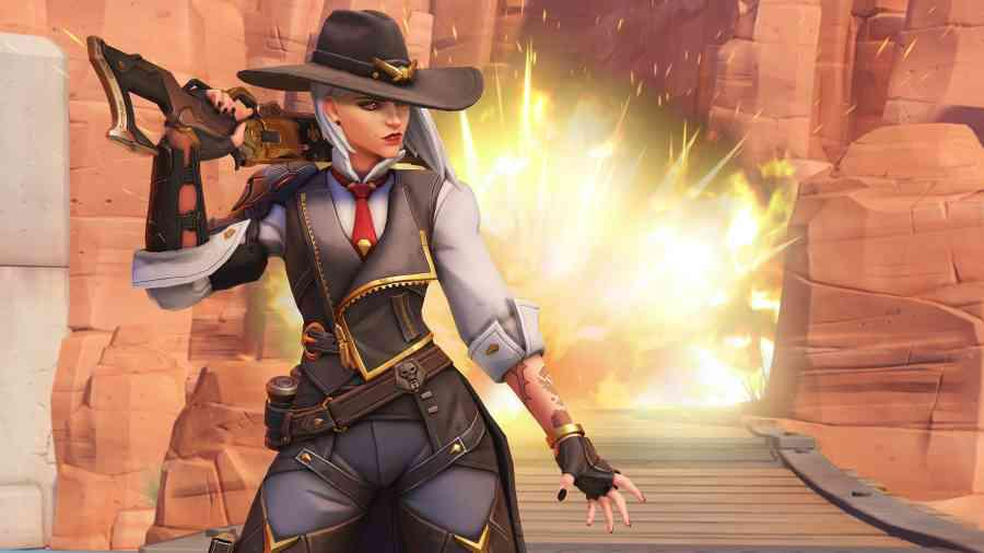 Overwatch - Nowa bohaterka Ashe