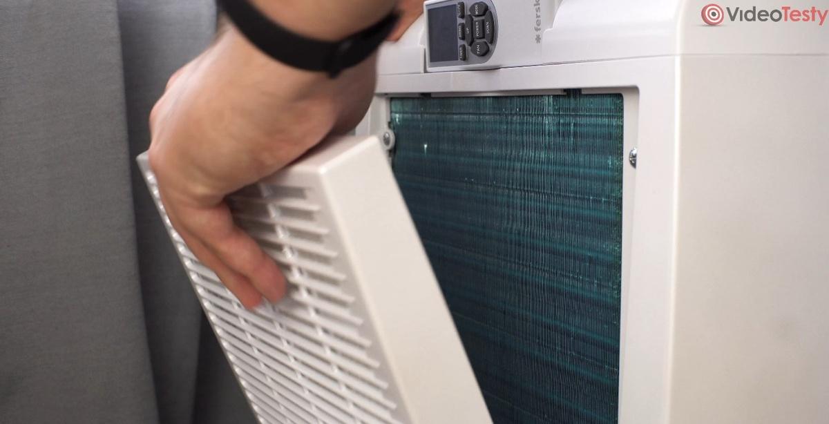 Filtr HEPA jest opcjonalny - jego zdjęcie zwiększa wydajność urządzenia