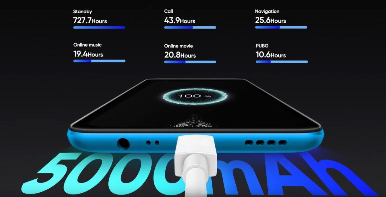 Realme C3 zaoferuje sporą baterię