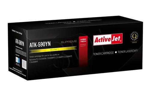 ActiveJet ATK-590YN toner Yellow do drukarki Kyocera (zamiennik Kyocera TK-590Y) Supreme