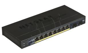 NETGEAR GS110TP Switch 8p. Gigabit +2x SFP w/PoE
