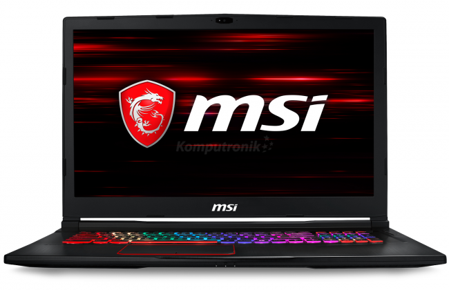 MSI GE73 Raider RGB 8RE-490PL - 240GB M.2 + 1TB HDD