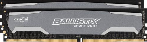 Crucial DDR4 Ballistix Sport 16GB/2400(2*8GB) CL16-16-16-16 DRx8