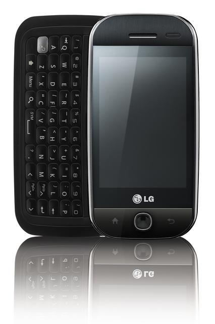 LG GW620 - Telefon ułatwiający korzystanie z serwisów społecznościowych