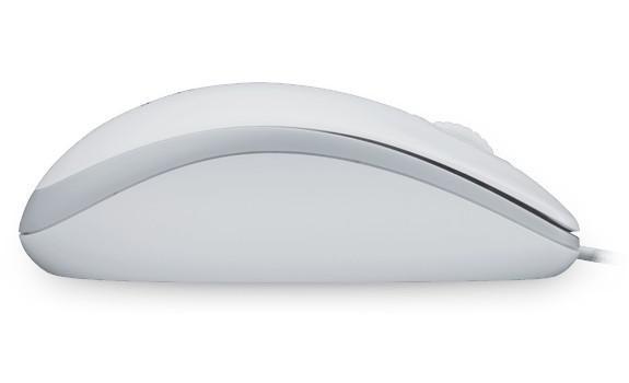 Logitech M100 White Mouse 910-001603