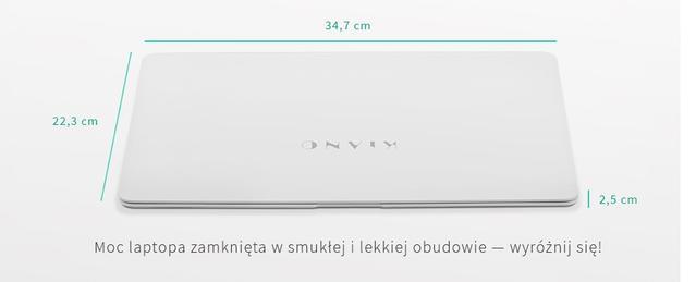 Rozmiary Kiano Slimnote 14.1