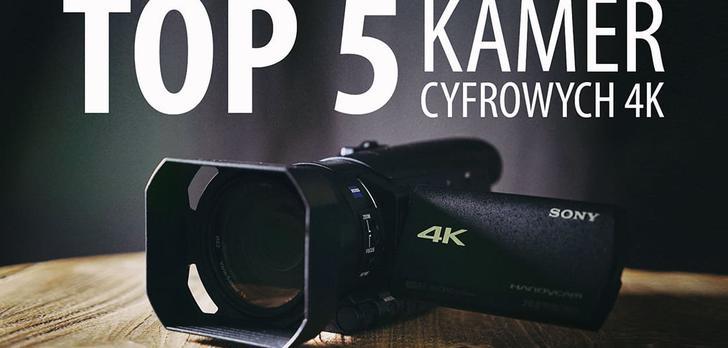 TOP 5 Kamer cyfrowych 4K