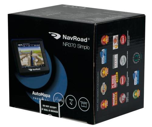 NAVROAD NR370 SIMPLO AutoMapa XL