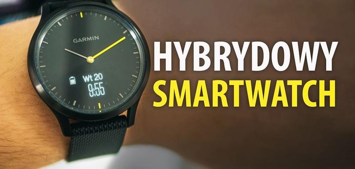 Garmin Vivomove HR - Zegarek z funkcjami smartwatcha!