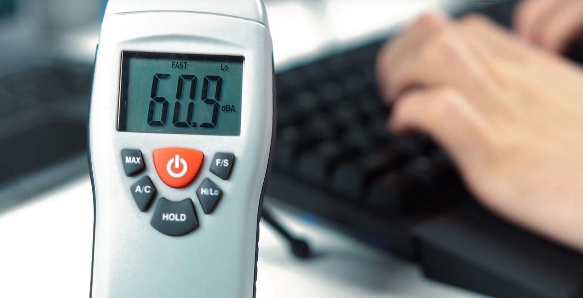 Test głośności klawiatury Hama uRage Exodus 900