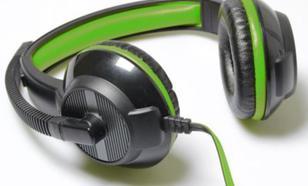 Media-Tech PURUS stereofoniczne i regulacją głośności czarne/zielone