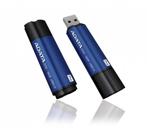 A-Data DashDrive Elite S102 Pro 16GB USB3.0 niebieski - 100MB / 25MB