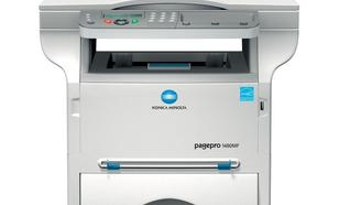 Konica Minolta PP 1480MF + WLAN dongle