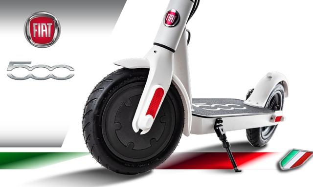 Hulajnoga elektryczna Fiat dla klientów sieci Plus
