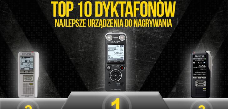 TOP 10 Dyktafonów - Najlepsze Urządzenia do Nagrywania