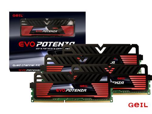Geil DDR3 EVO Potenza 32GB/ 1600 (4*8GB) CL11-11-11-28
