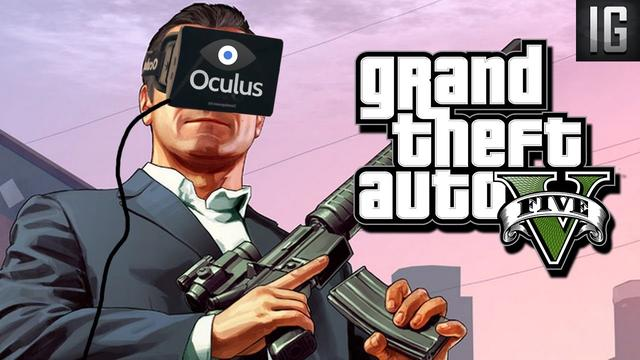 GTA 5 Wspiera Już Oculus Rift