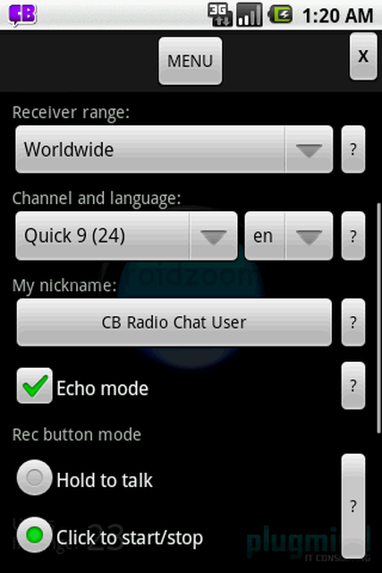 CB Radio Chat - ciekawa aplikacja na androida