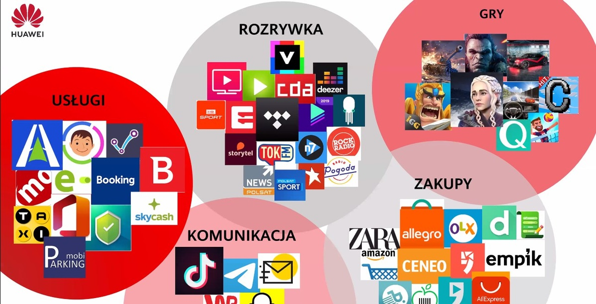 Polskich aplikacj na Huawei App Gallery przybywa