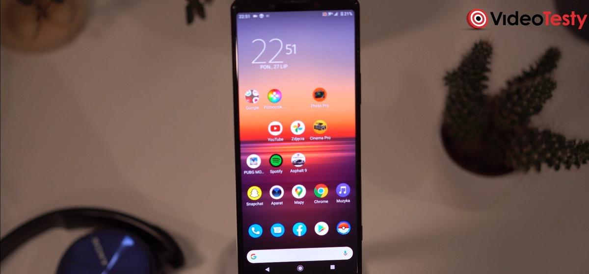 Nakładka Sony to w znacznej mierze czysty Android
