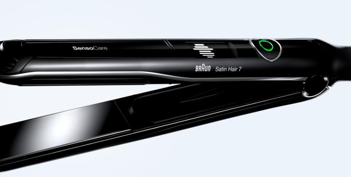 Bezpieczna stylizacja włosów z nową prostownicą  Braun Satin Hair 7 SensoCare