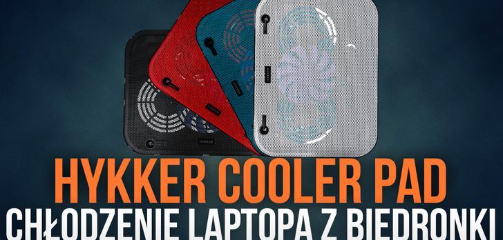 Hykker Cooler Pad - Chłodzenie Laptopa z Biedronki!
