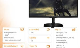 23.8'' 24MT77D-PZ TV IPS