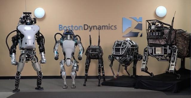 boston dynamics google roboty