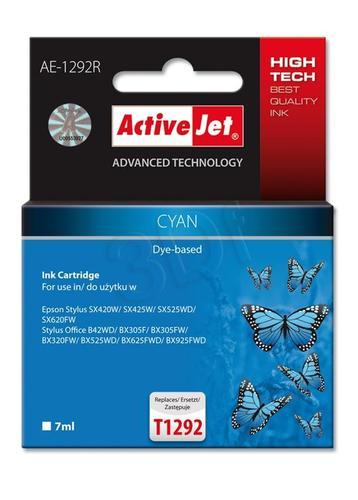 ActiveJet AE-1292R tusz cyan do drukarki Epson (zamiennik Epson T1292) Premium