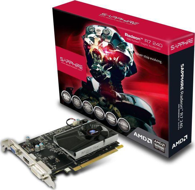 Sapphire RADEON R7 240 4G DDR3, 128-bit (11216-30-20G)