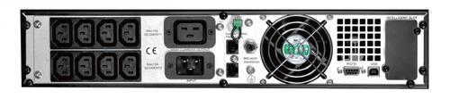 Lestar UPS MepRT-3000 ONLINE LCD RT 9xIEC USB RS RJ 45