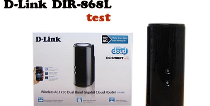 Dwa zakresy i wsparcie standardu 802.11AC test D-Link DIR-868L