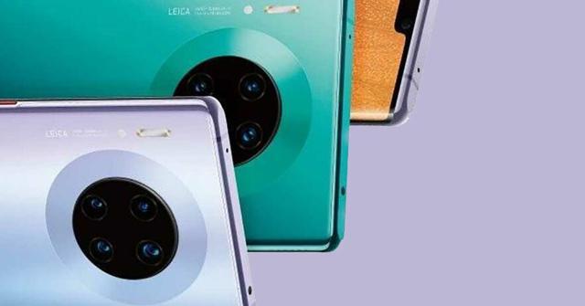 Tak może się prezentować się Huawei Mate 30 Pro z tyłu